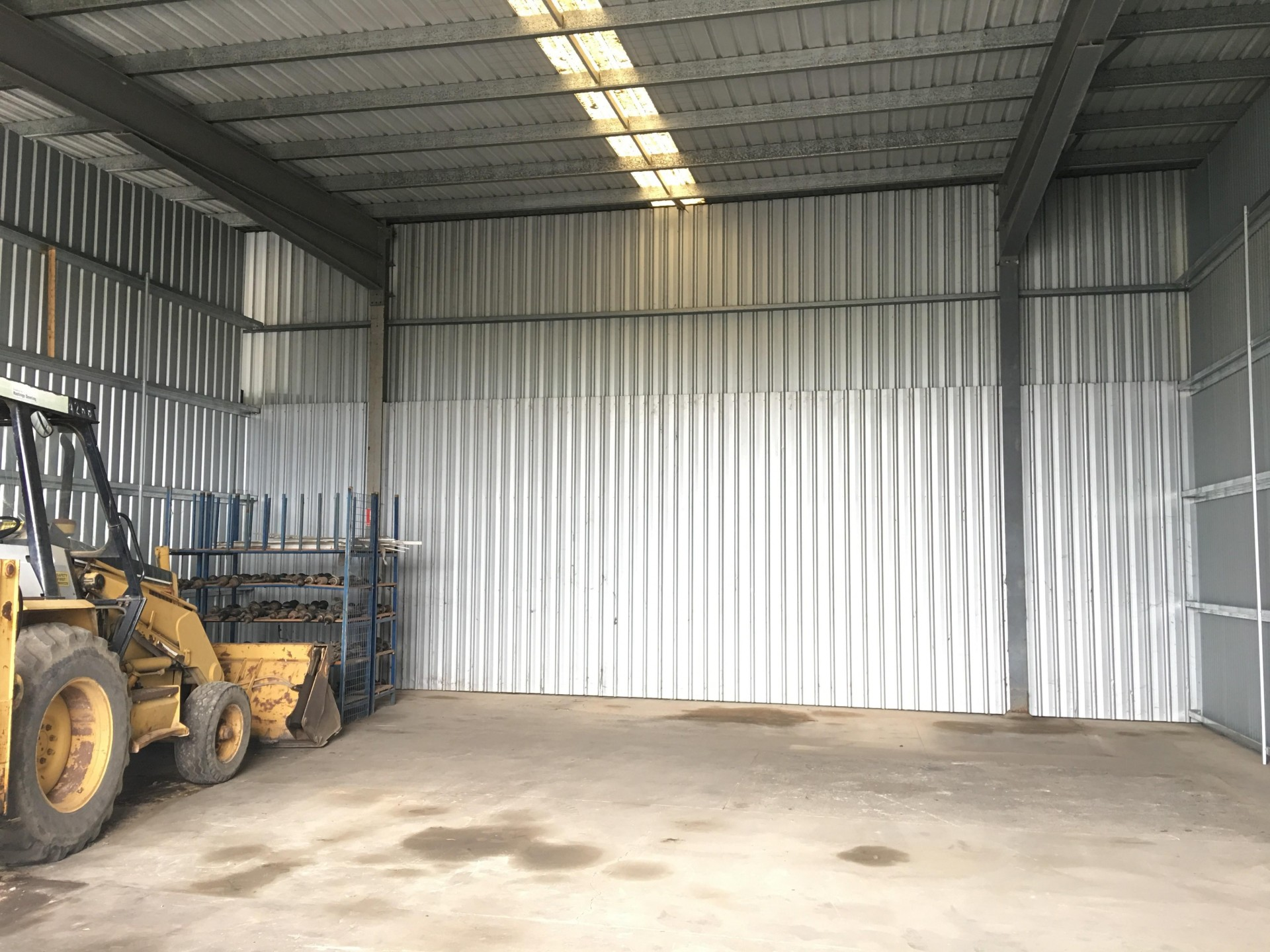 208M2 METAL CLAD STORAGE SHED - AVAILABLE NOW!!