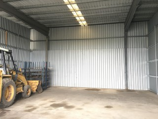 View profile: 208M2 METAL CLAD STORAGE SHED - AVAILABLE NOW!!