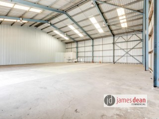 View profile: Get to work! 337sqm* Metal Clad Warehouse
