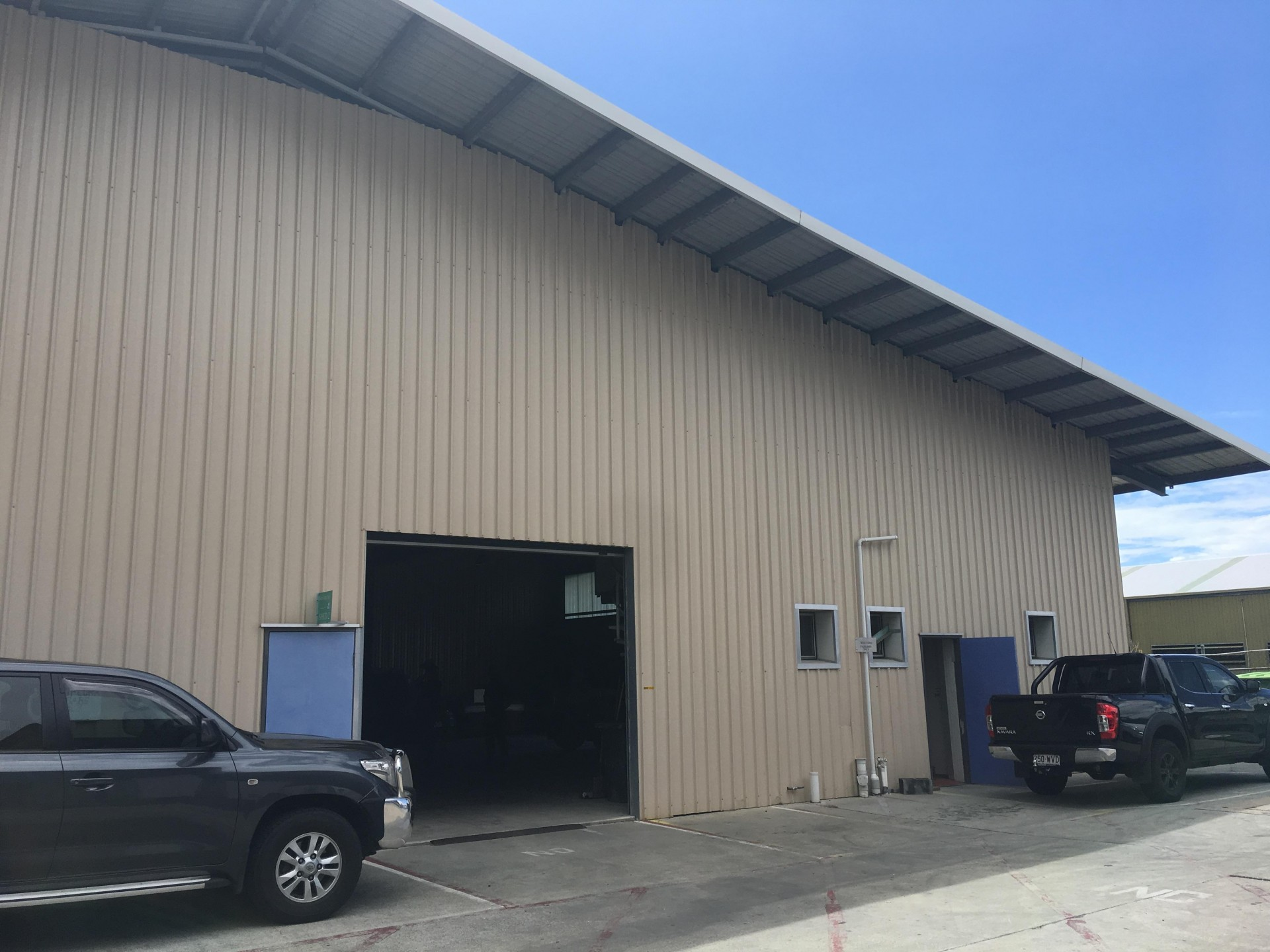 268m2 Metal Clad - Clear Span Warehouse – Hemmant