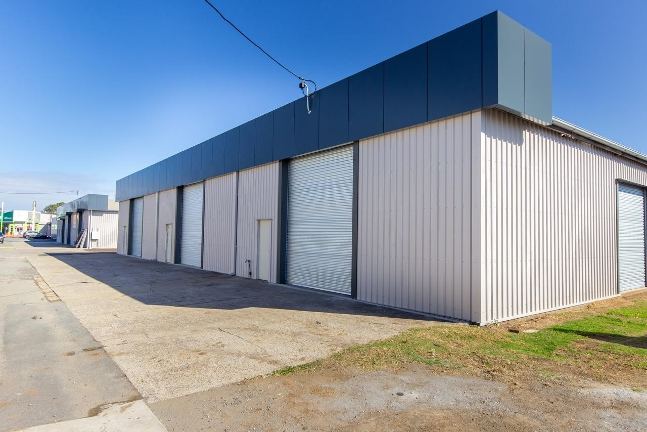 200m2 Shed Available Now - Incentives On Offer