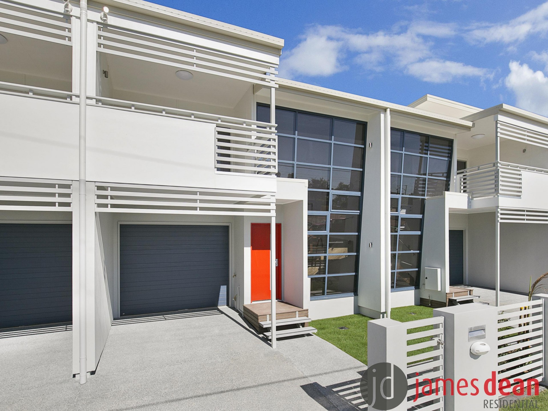 Stylish Three Bedroom Wynnum Central Townhouse Built With Architectural Flair