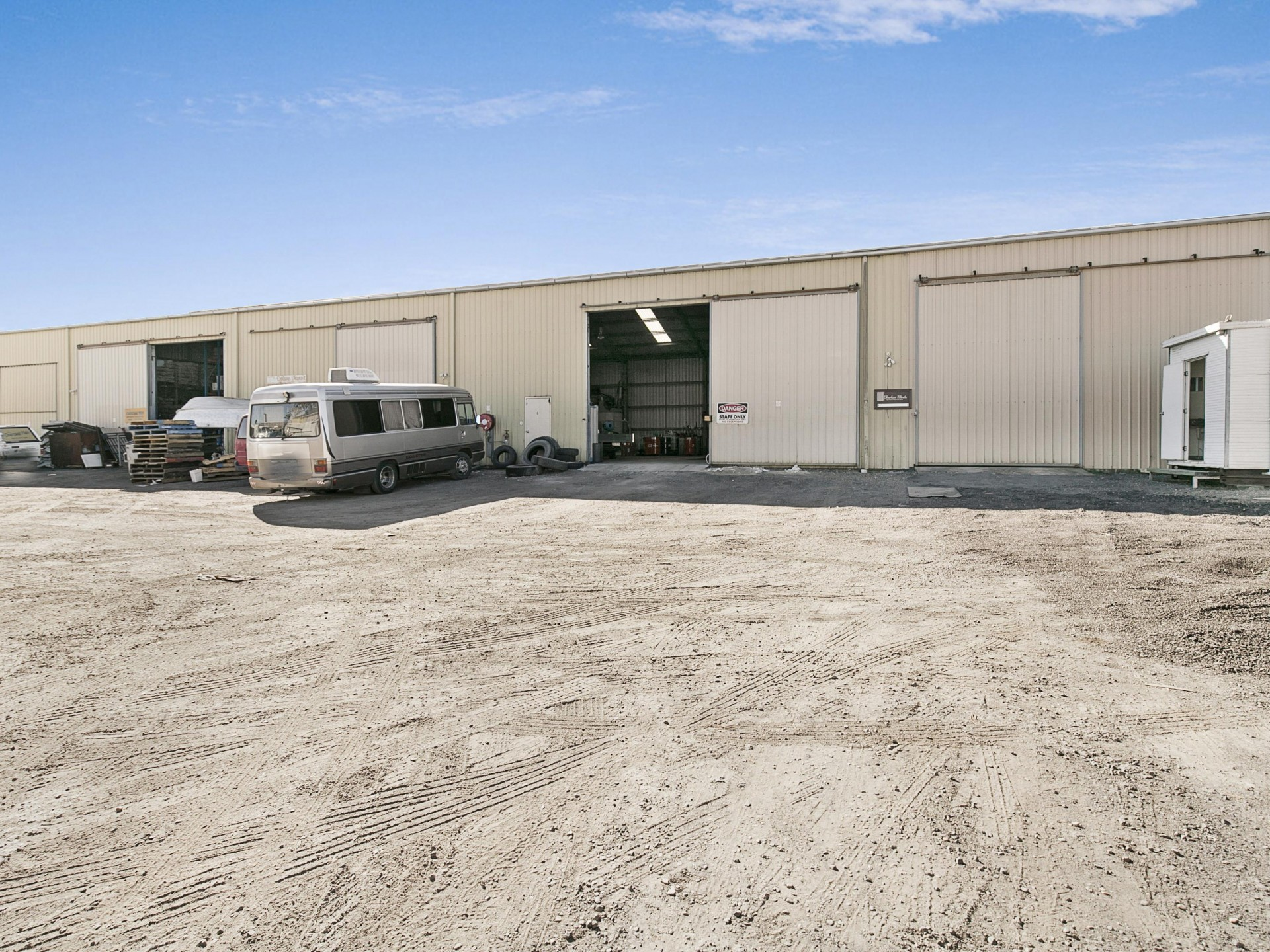 350m2 Metal Clad Warehouse - Tingalpa