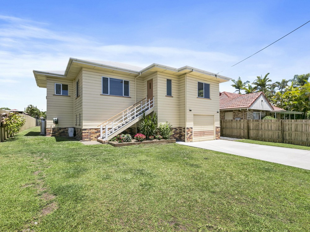 Renovated Tingalpa High Set Home With Polished Floors & Loads of Storage Room