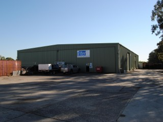 View profile: 600m2 Clearspan Warehouse With 2,125m2 Sealed Hardstand