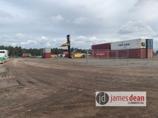 View profile: 6,600sqm Level Compact Hardstand - READY NOW!