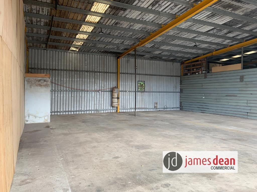 225m2 High Bay, Clear Span Warehouse + Hardstand