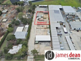 View profile: 1,600m2 Site With Offices & Sheds