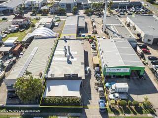 View profile: 462m2 Warehouse With Off-Street Parking & Spray Booth